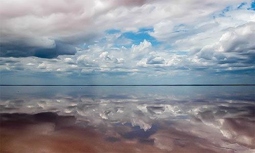 К соленому озеру Эльтон