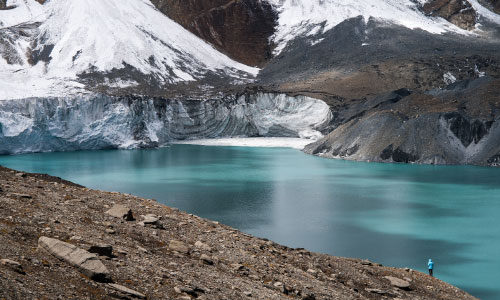 Ледниковое озеро Тиличо