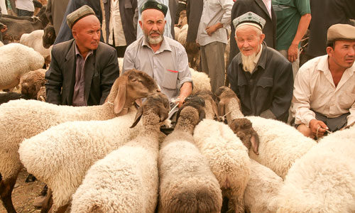 Рынок в Кашгаре