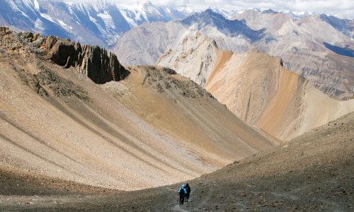 Перевалы NumaLa и BagaLa